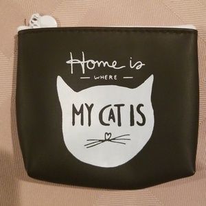Home is where my cat is change purse/2 for $10